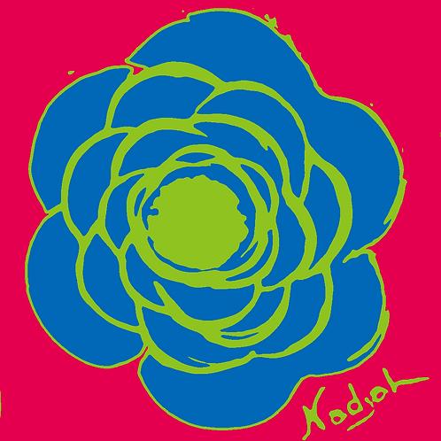 La Flor Pop Art #9
