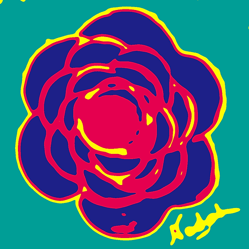 La Flor Pop Art #59