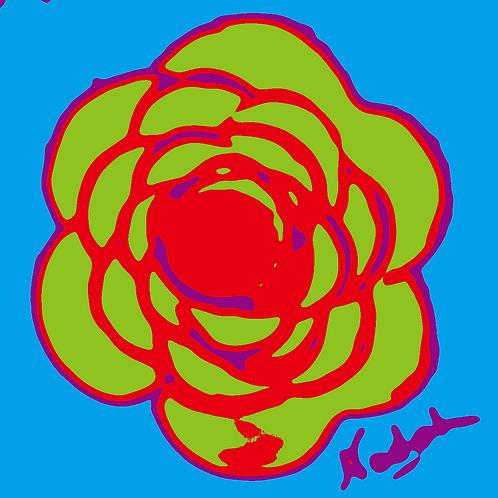 La Flor Pop Art #57