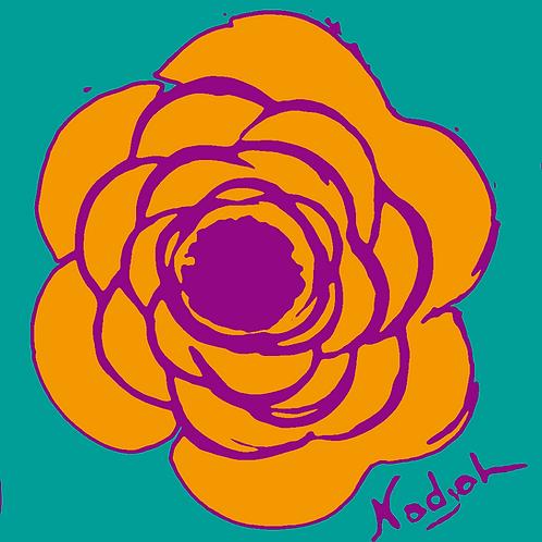 La Flor Pop Art #20