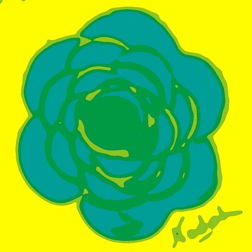 La Flor Pop Art #93