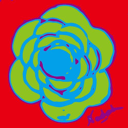 La Flor Pop Art #63