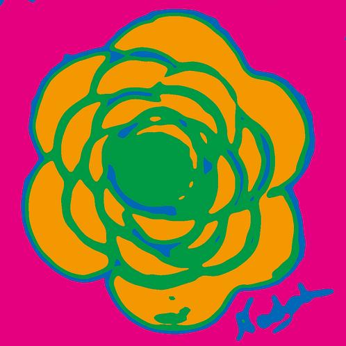 La Flor Pop Art #60