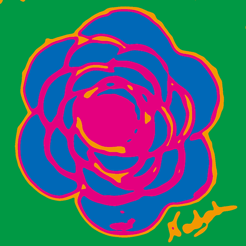 La Flor Pop Art #56
