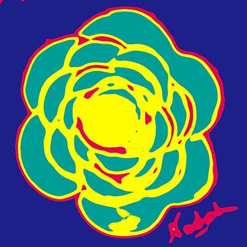 La Flor Pop Art #50