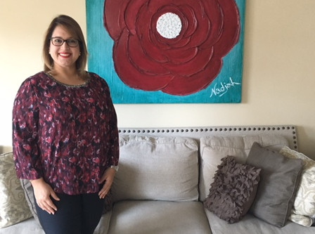 March 2017 Art Collector of the Month: Carlamara Sánchez