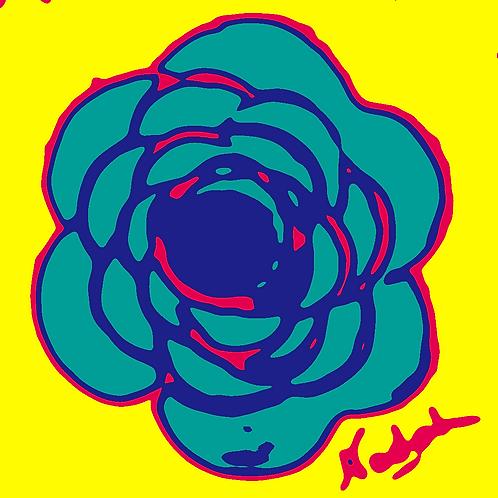 La Flor Pop Art #71
