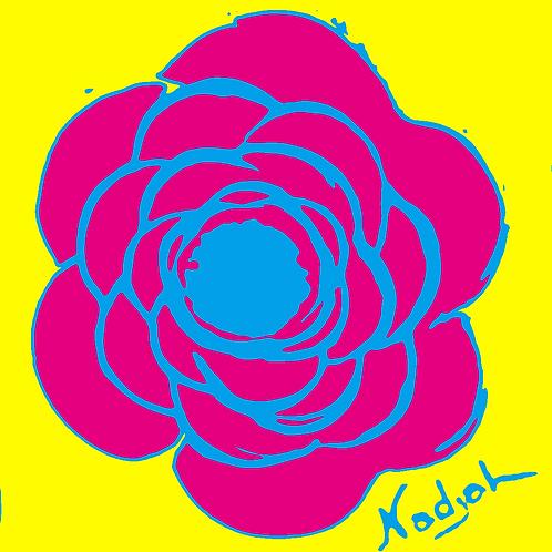 La Flor Pop Art #13