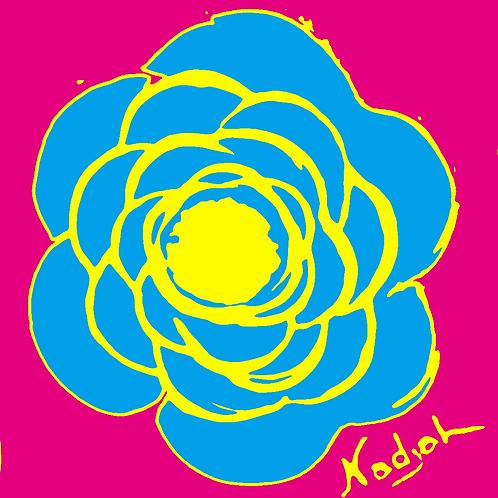 La Flor Pop Art #6