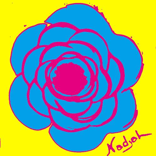 La Flor Pop Art #15