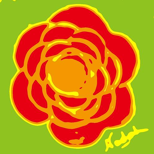 La Flor Pop Art #88