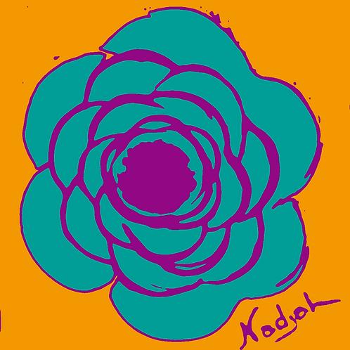 La Flor Pop Art #14