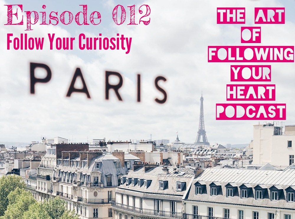 Following Your Curiosity - The Art of Following Your Heart Podcast