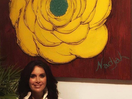 September 2017 Art Collector of the Month: Gina Herrero