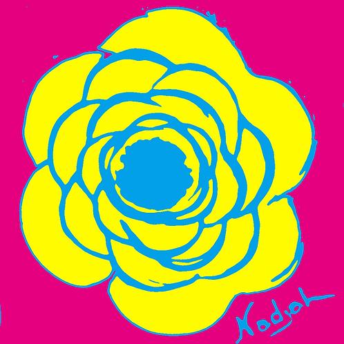 La Flor Pop Art #17