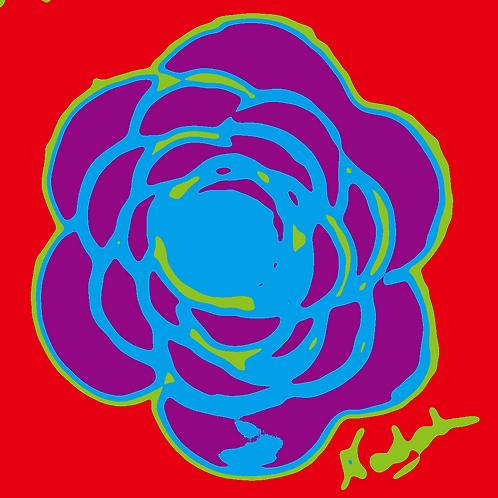 La Flor Pop Art #70
