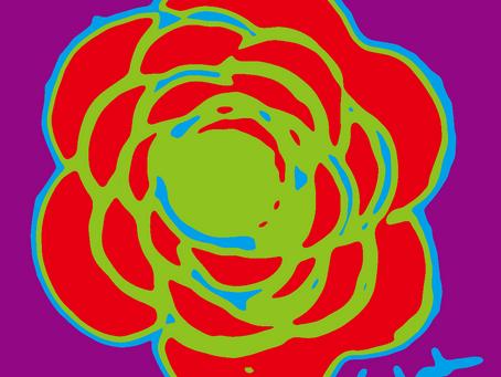 """Presenting my new Fine Art Prints:          """"La Flor Pop Art"""""""