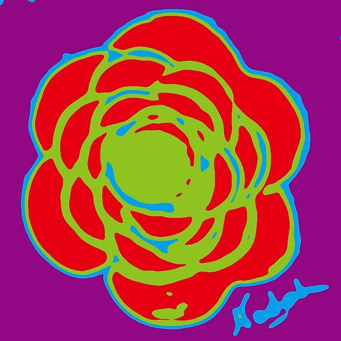 La Flor Pop Art #64