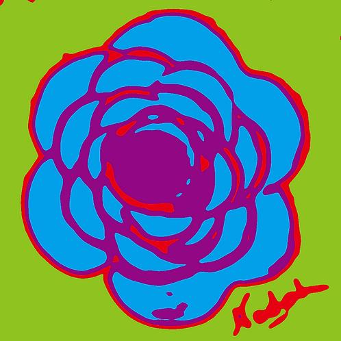 La Flor Pop Art #51