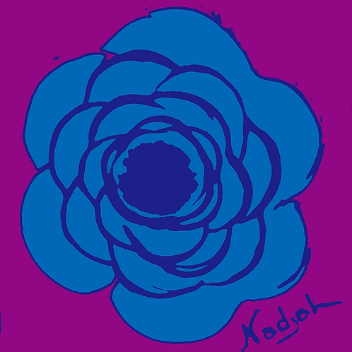La Flor Pop Art #28