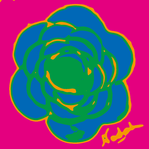 La Flor Pop Art #54