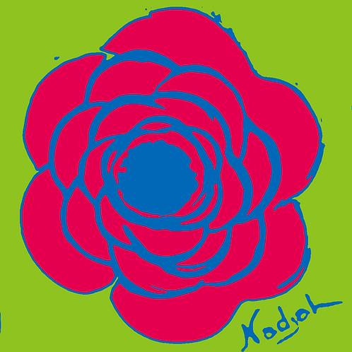 La Flor Pop Art #12