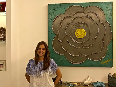 November 2016 Art Collector of the Month: Maru Vallarino de Tamburrelli