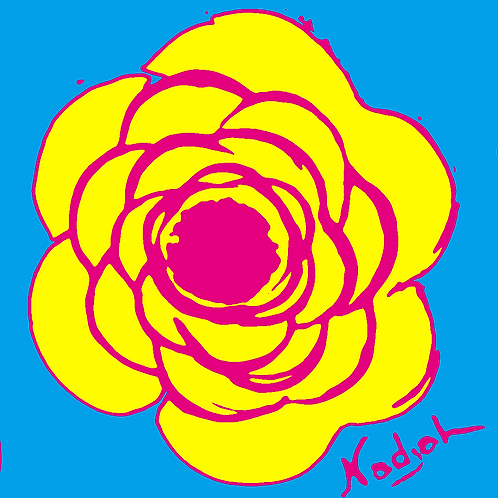 La Flor Pop Art #11