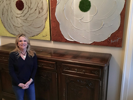 April 2017 Art Collector of the Month:  Becky Hohensee