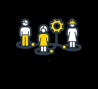 Grafico de implementación de equipos y soluciones