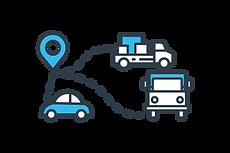 localización de ubicación de los vehiculos