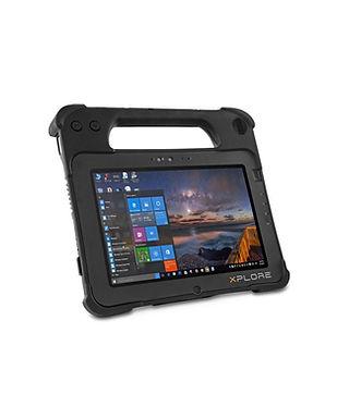 tablet robusta  xplorer XPAD L10 zebra.j