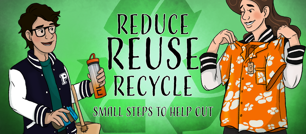 Reduce, Reuse & Recycle - Small steps to help out!