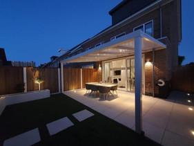 Open veranda