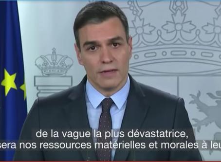 اسبانيا تسجل حالات وفاة قياسية بسبب كورونا