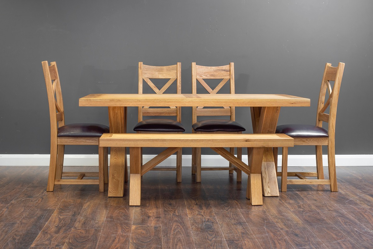 X 1.8m Table Set with Small Bench.jpg