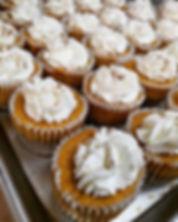 Mini cheesecakes galore in the case toda