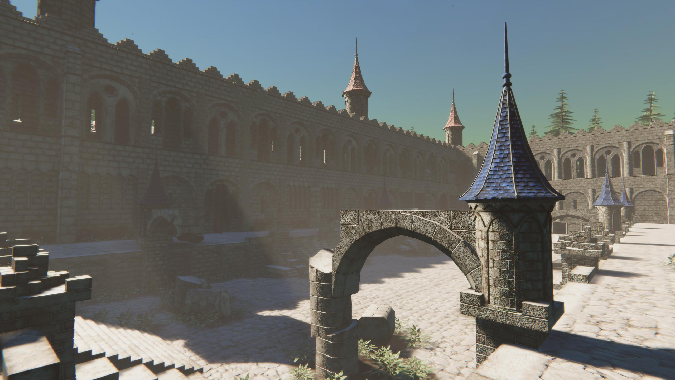 Modular Ruins - Blue Roof