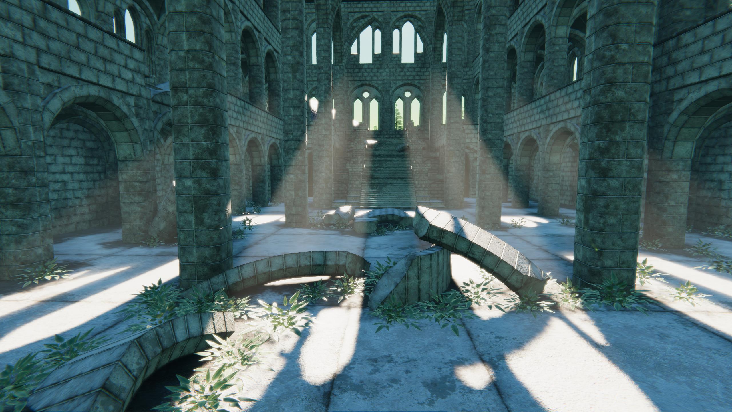 Modular Ruins - God Rays