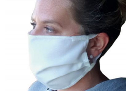 Wiederverwendbare textile Mund-Nasen-Maske