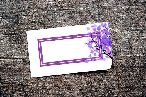 Love Bomb Business Card | Lavender