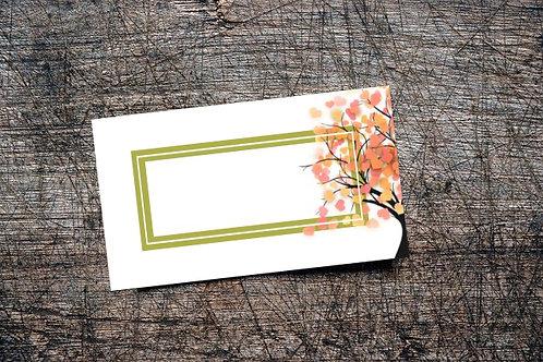 Love Bomb Business Card | Autumn