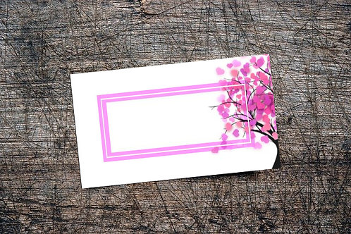 Love Bomb Business Card | Magenta