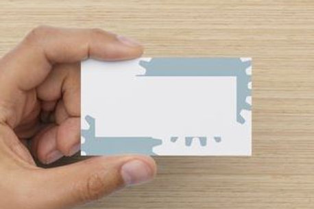 Slate Gear Business Card