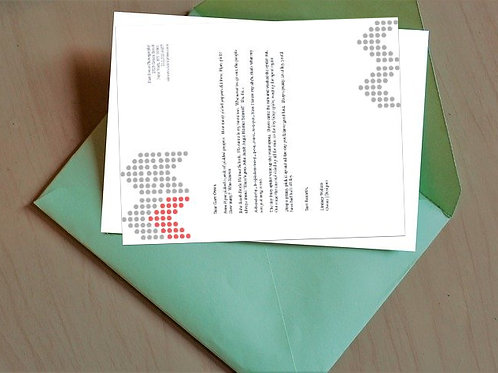Dotted Pale Fire Letterhead