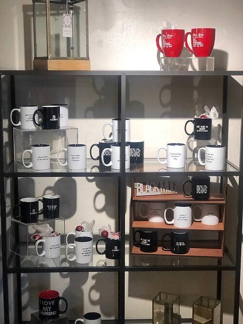 Black Mug Collection