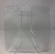 """CLEAR - 11"""" Dinner Plate $1.50/EA (SHOWN)"""