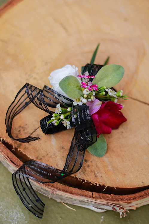 Better in Black Corsage