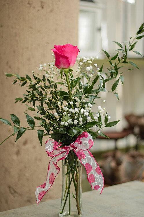 Single Rose Bud Vase