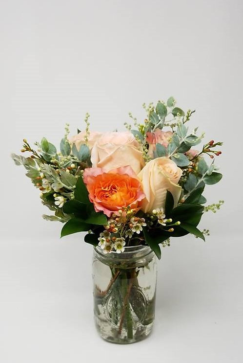 Country Chic Rose Bouquet